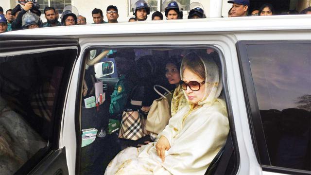 খালেদা জিয়ার জামিন স্থগিতে রাষ্ট্রপক্ষ ও দুদকের আবেদনে শুনানি বুধবার আপিল বিভাগে