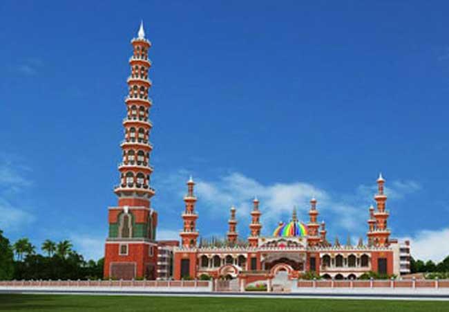 টাঙ্গাইলে তৈরি হচ্ছে বিশ্বের সবচেয়ে বেশি ২০১ গম্বুজ মসজিদ, ব্যয় ১০০ কোটি টাকা