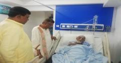অসুস্হ আ ন ম শফিককে দেখতে হাসপাতালে মেয়র আরিফ