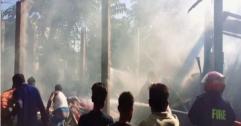 দক্ষিণ সুনামগঞ্জের পশ্চিম পাগলায় তুলার গুদামে অগ্নিকান্ড