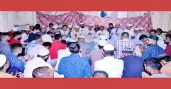 খালেদা জিয়ার রোগমুক্তি কামনায় সিলেটে দরগা মসজিদে দোয়া মাহফিল