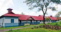 নরপশুদের তাড়িয়ে এমসি কলেজ ক্যাম্পাসের দখল নিয়েছে আদিবাসীরা