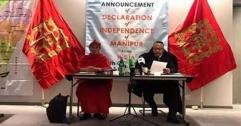 লন্ডনে মনিপুর রাজ্যের স্বাধীনতা ঘোষণা,প্রবাসী সরকার গঠন